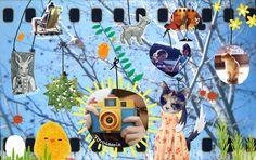 inspiración   Flickr: Intercambio de fotos - Antonia Herrera #Illustration #Chile