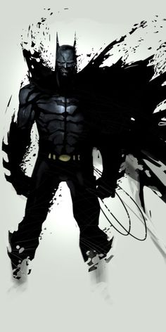 #Batman illustration