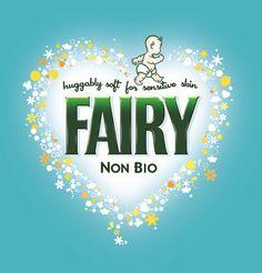 P & G Fairy Non Bio brand logo #pg  @Thank You Mum