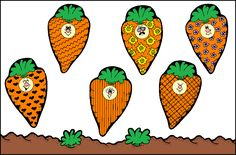 Lots of Carrot Seed book ideas