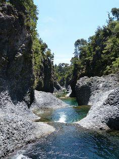 Cinco Tazas, región del Maule, Chile