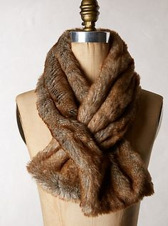 Lisa Mende Design big sale on these fur ascots in several colors!  39.95
