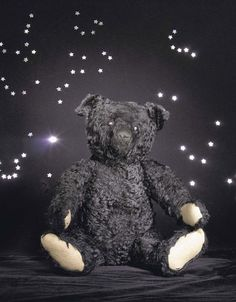 This black Steiff mourning teddy, c.1912, sold at auction in 2000 for over ninety-one thousand pounds