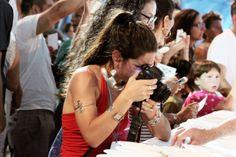 la nostra foto/video reporter Giulia al lavoro nel circo di Al Meni #almeni #marcopoderistudio