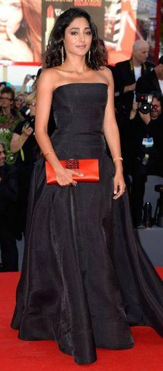 Setting the red carpet on fire, Iranian actress Golshifteh Farahani