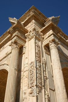 Arch of Septimus Severus, Leptis Magna, Libya by Mike Gadd