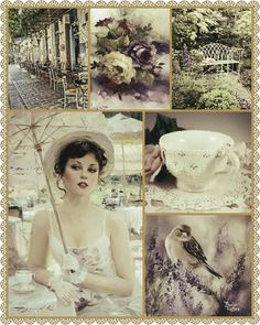 Dream Collage, Beautiful Collage, Cream Colour, Old Soul, Color Card, Color Pallets, Altered Books, Beautiful Patterns, Vintage Beauty