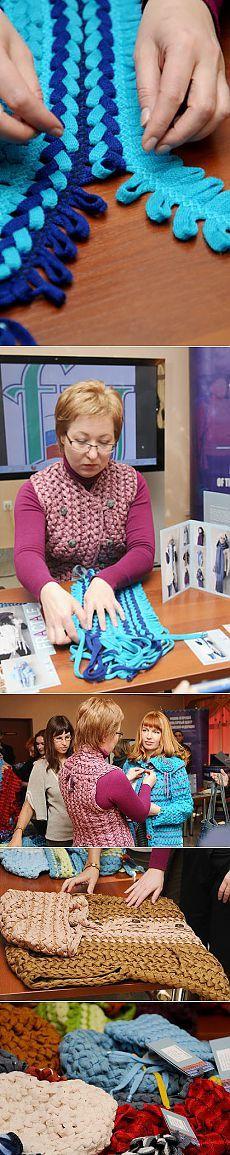БНК - В Сыктывкаре презентовали единственный в мире текстильный конструктор