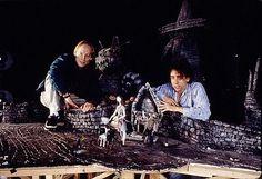 Henry Selick and Tim Burton