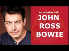 John Ross Bowie Interview (Barry Kripke on The Big Bang Theory)