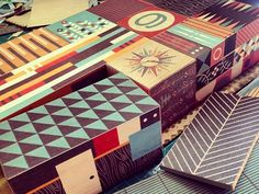 Build your own Case Study House! Stackable wooden blocks inspired by timeless Californian Modernist architecture.  School project and WIP but man how sweet would it be if I could actually bring thi...