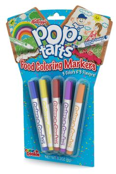 Pop Tarts Flavored Food Coloring Markers