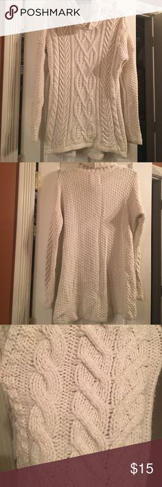 Cream Sweater Cozy cream sweater Tops