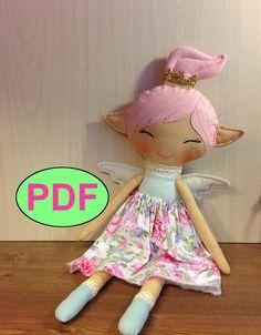 #Dollpattern #Softdollpattern #clothdollpattern #ragdollpattern #dollmaking #fairy #Dollsewing #fairydoll #NatashaArtDolls