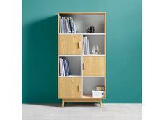 Tento artikel je k dispozícií iba ONLINE. !Elegantná skriňa, ktorá vnesie do obývačky 70-te roky. 80x160x38cm(Š/V/H) veľká skriňa s nohami z masívu ponúka veľký úložný priestor.Disponuje 3 dverami a 4 otvorenými priečinkami. Kids And Parenting, Shelving, Bookcase, Color, Home Decor, Creativity, Furniture, Student Dormitory, Closet Storage