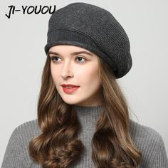 d92d4e04d19 Winter hats for women knitted hat fashion Berets Women s autumn hat touca  inverno feminina 7 colors