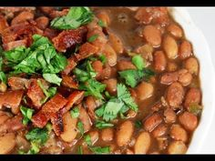 Authentic Mexican Style Pinto Bean Recipe., ,