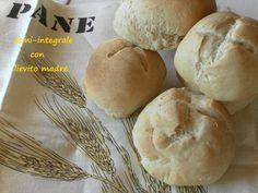Pane semi-integrale con lievito madre/Sourdough bread