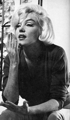 Marilyn at home during her Life interview with Richard Meryman, July 4, 1962. Photo by Allan Grant.