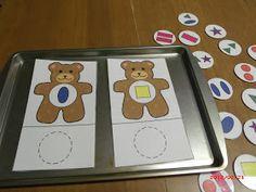 Train up a child: BFIAR - Corduroy (Teddy Bear Theme); Bears Preschool, Fall Preschool, Preschool Lesson Plans, Preschool Themes, Preschool Activities, Shape Activities, Teddy Bear Day, Teddy Bears, Train Coloring Pages