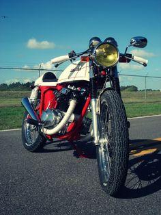 Honda CB200T Cafe Racer by Bare Bone Rides