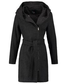 even&odd Damen Wollmantel / klassischer Mantel dark grey - bei MYBESTBRANDS entdecken ✓