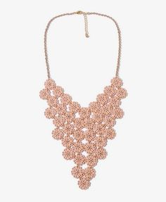 Floral Bib Necklace | FOREVER21 - 1000043334