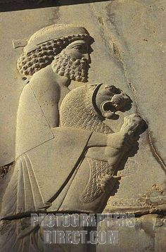 persian king and lion