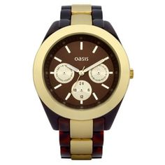 Oasis - Ladies Multi Dial 2-Tone Bracelet Watch - B1187 - RRP: £40.00 - Online Price: £34.00