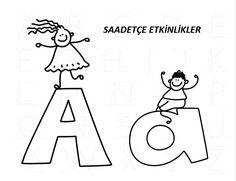 ÇUBUK ÇOCUK HARFLER Preschool, Scrapbook, Lettering, Education, Fictional Characters, Lyrics, Kid Garden, Scrapbooking, Drawing Letters