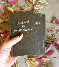Dreams and Nightmares Blank Journal van jenlorang op Etsy, $40.00