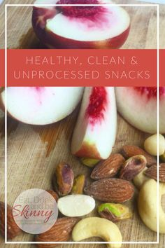 44 Clean & Simple Snack Ideas! From grab and go to simple recipes -- I'm never at the mercy of the vending machine now!