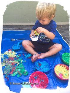 Top 10 Sensory Activities (17 months)