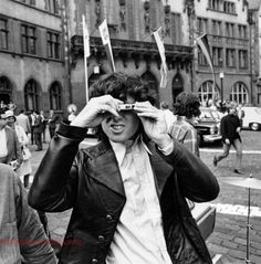 Jim Morrison on the other side of the camera.