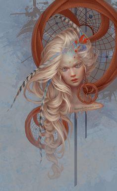 Dream Catcher by JenniferHealy on DeviantArt