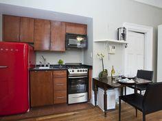 Küchenzeile Mit Retro Kühlschrank : Faszinierende bilder zu u eretro kühlschranku c kitchen dining
