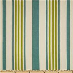 P Kaufmann Indoor/Outdoor Hugo Stripe Poolside - Discount Designer Fabric - Fabric.com