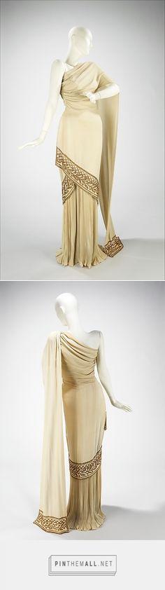 Evening dress by Mme. Eta Hentz 1944 American | The Metropolitan Museum of Art