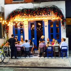 #This happened last #night  #summer #weekend #SouvlakiGR #fun #LES #restaurant