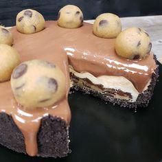 Årstidsboden -CHOCOLATE CARAMEL OREO COOKIE DOUGH CHEESECAKE