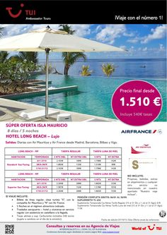 Súper oferta Isla MAURICIO - Hotel Long Beach. Precio final desde 1.510€ ultimo minuto - http://zocotours.com/super-oferta-isla-mauricio-hotel-long-beach-precio-final-desde-1-510e-ultimo-minuto/