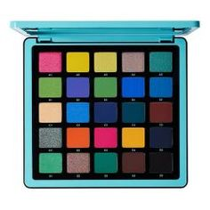 Expanding the Norvina collection, the Anastasia Beverly Hills Norvina Pro Pigment Palette Vol. 2 is a professional-grade artistry palette featuring 25 deluxe-sized, high-performance shades with a gorgeous aqua-themed color story. Sephora, Eyeshadow Pans, Eyeshadow Palette, Vegan Makeup Palette, Neon Eyeshadow, Colourpop Eyeshadow, Eyeshadows, Anastasia Beverly Hills, Extra Large Mirrors