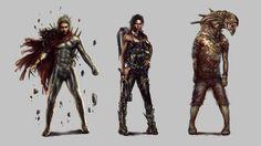 Urban Survivor : Character concepts 2 by PabloFernandezArtwrk
