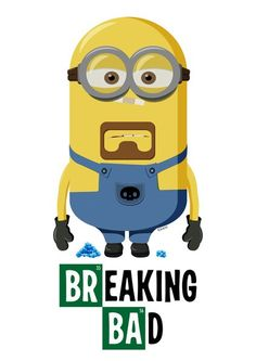 Breaking Bad and a minion! yes!!