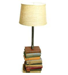 Vintage Books Reading Lamp