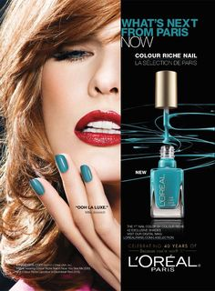 L'Oréal Paris Cosmetic Advertising with Milla Jovovich
