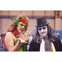 Thought I'd share another photo from MCM Comic Con Birmingham 2017 of Penguin and Poison Ivy. I'm still so gutted I've not been able to go but hope everyone has had a fantastic weekend and fingers crossed I'll actually be able to go next year!  - - - #photography #mcm #mcmbirmingham #mcmcomiccon #nikon #nikonphotography #guardiansofthegalaxy #starlord #photographer #50mm #nec #mcmcomiccon2017 #mcm2018 #comiccon #comicconexperience #comiccon2018 #comiccon2017 #poisonivy #penguin