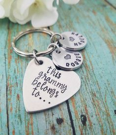 bestill Forever Your Little Girl Keychain idea Guitar Pick Key Chain for dad