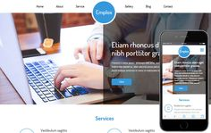 Emplox a Personal Portfolio Flat Bootstrap Responsive Web Template