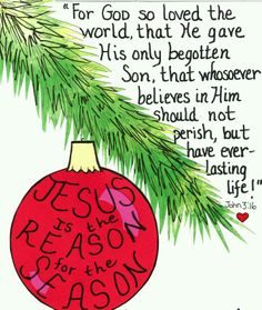 Jesus is the Reason for the Season! http://www.365celebration.com ...